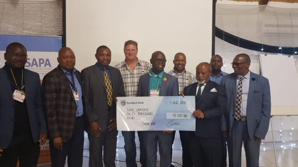 Think Ink Platinum Sponsor for SAPA Limpopo
